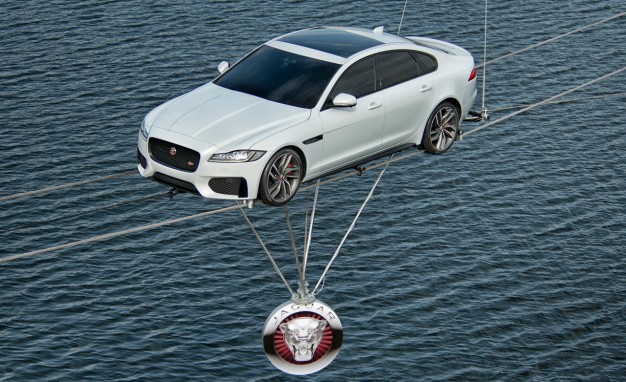 World-record drive with the Jaguar XF