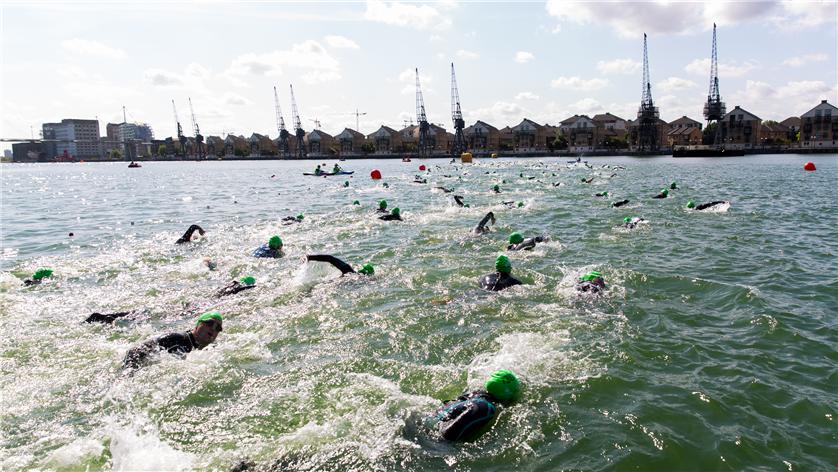 The Great Newham London Swim