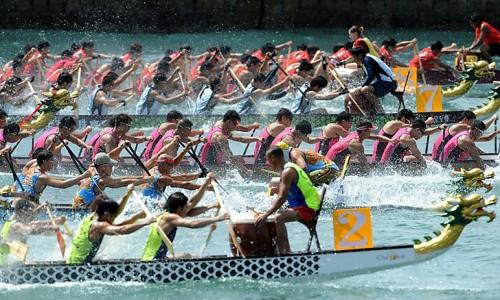 Dragon Boat Festival at the Royal Docks