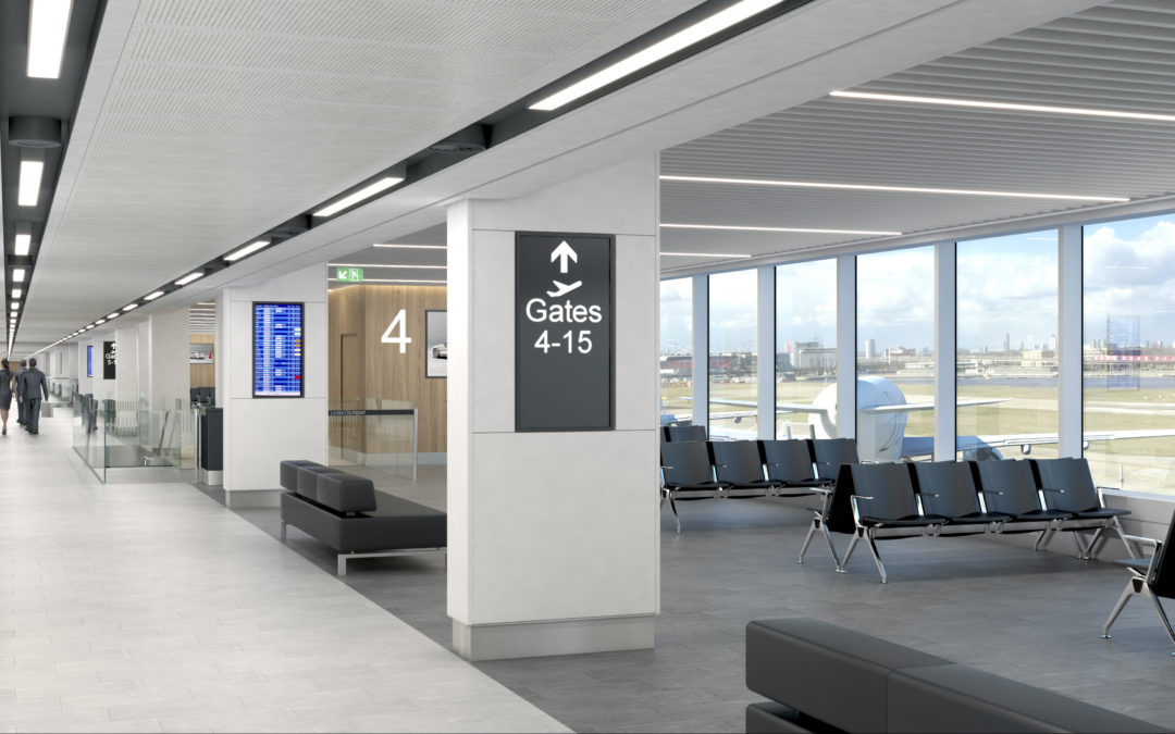 New departure gates and routes for London City Airport
