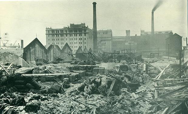Remains of Brunner Mond Works